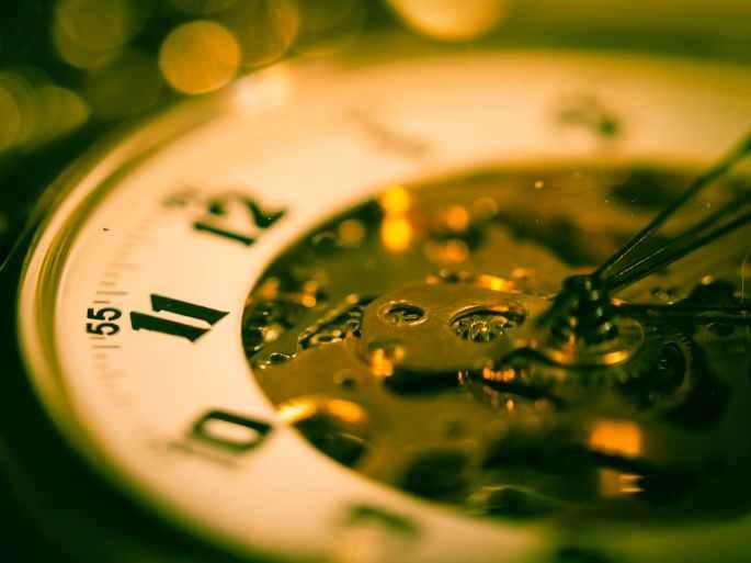 blur clock clock face close up